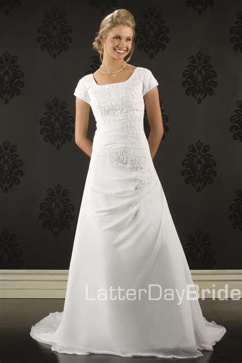 Wedding Dresses Tacoma by Modest Wedding Dress Tacoma Latterdaybride Prom