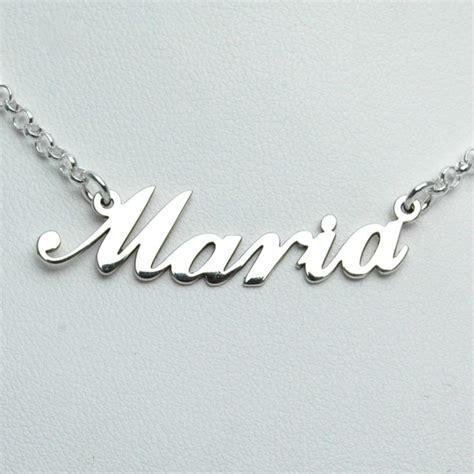 cadenas oro con tu nombre cadena con nombre de plata