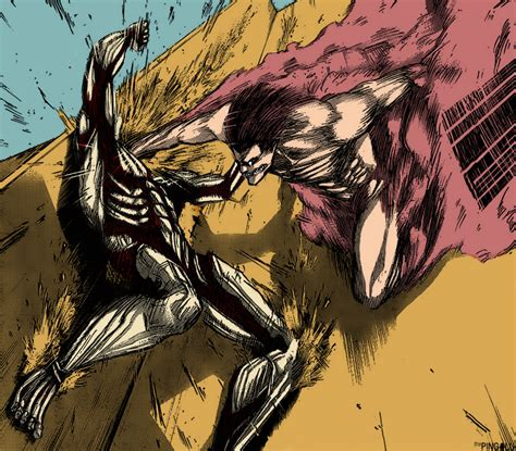 Eren Vs Armored Titan Related Keywords - Eren Vs Armored ... Attack On Titan Eren Titan Vs Armored Titan