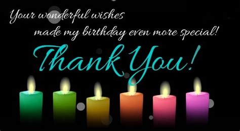 Happy Birthday Thanks Wishes Thank You For Birthday Wishes November 2015
