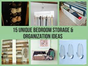 bedroom organization ideas 15 unique bedroom storage organization ideas