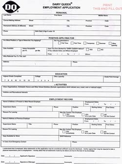 dairy queen printable job application pdf dq coupons 2017 2018 best cars reviews