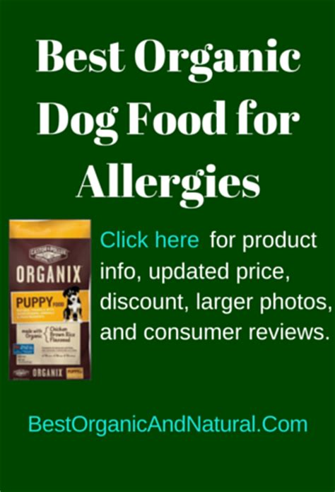best organic food for puppies best organic food for allergies best organic and products