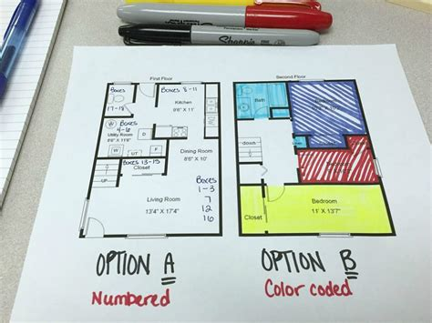 Minimalist Floor Plan by Creating A Bullet Journal Moving Inventory Moving Insider