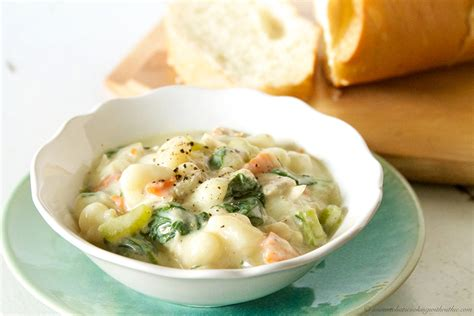 Gnocchi Soup Olive Garden Recipe by Olive Garden Chicken Gnocchi Soup Copycat Cooking With