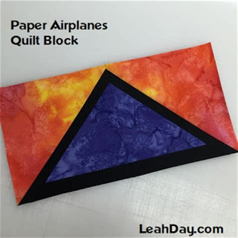 paper pattern of vdo the free motion quilting project easy paper airplanes