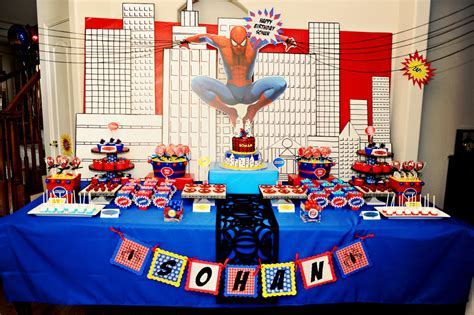 birthday themes spiderman birthday party ideas birthday party ideas spiderman