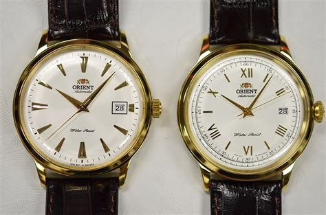 Orient Kombinasigold New For vintage gold the new orient bambino in gold tone