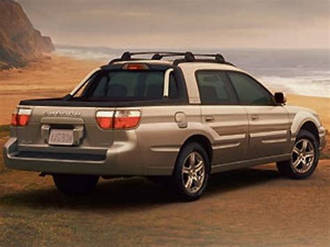 subaru pickup 2002 2006 subaru baja truck review top speed