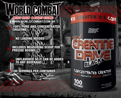 creatine jiu jitsu creatina drive black nutrex world combat