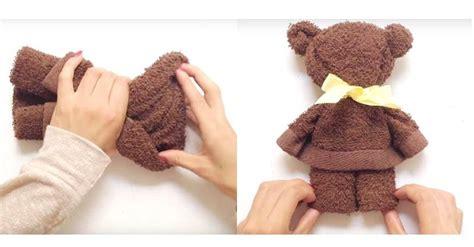cara membuat cerpen unik cewek ini membuat teddy bear hanya dengan sehelai handuk