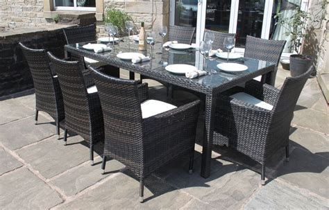 Rectangular Patio Table Seats 8 Patio Design Ideas Dining