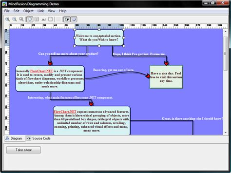 flowchart net mindfusion diagramming for winforms standard