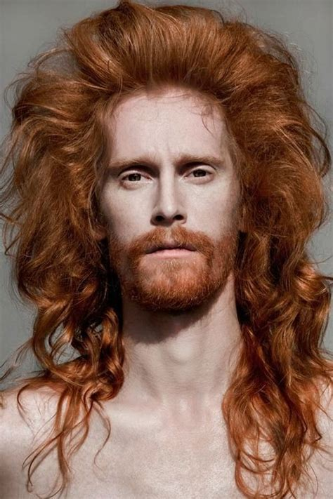 popular hairstyles for gingers model danila polyakov by vlad zorin for redheads men
