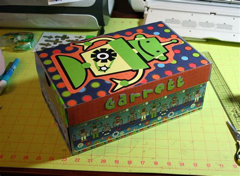 other decorated shoebox