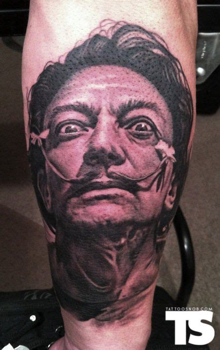 gallery tattoo in detroit dali tattoo by bob tyrrell at nightmare gallery in detroit
