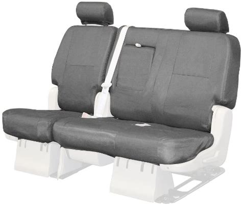 Fabric Covered Bench Seat Review Coverking Custom Fit Rear Bench Seat Cover