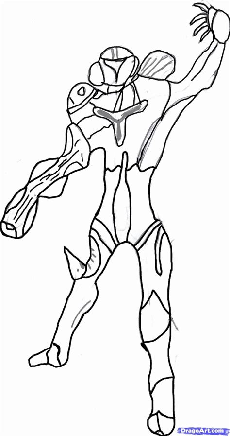 metroid coloring pages az coloring pages