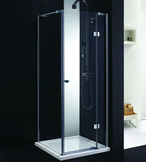 Hinged Glass Shower Door Elite 900mm Frameless Hinged Shower Door 8mm Glass