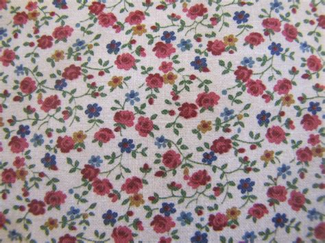 calico upholstery fabric vintage rose calico fabric floral fabric cotton fabric