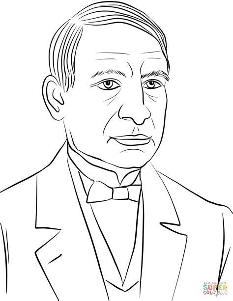 imagenes de benito juarez faciles para dibujar dibujo de benito ju 225 rez para colorear dibujos para