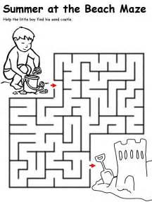 15 best images of 2nd grade maze worksheets 3rd grade