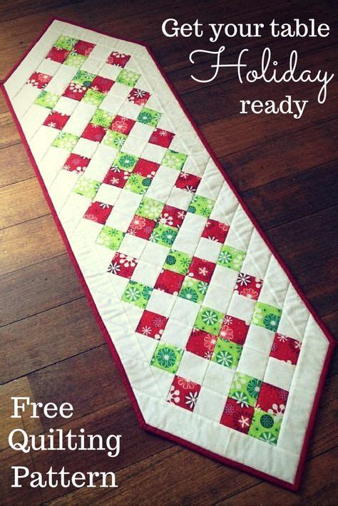 table runner pattern 17 best ideas about table runners on