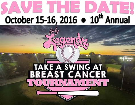take a swing lady legendz quot take a swing at breast cancer quot albie aware