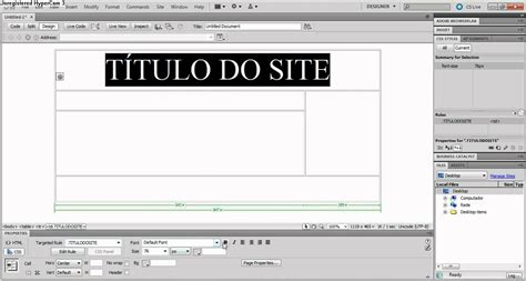 tutorial dreamweaver cs5 tutorial b 225 sico dreamweaver cs5 youtube