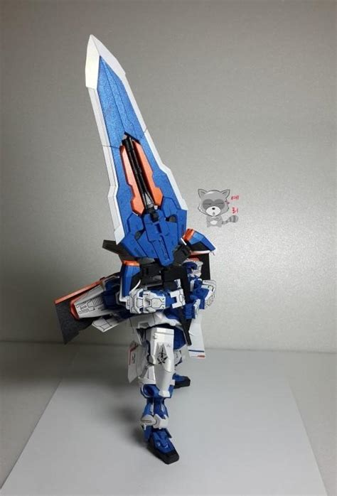 Sd Astray Frame By Tokooge24 mbf p03 gundam astray blue frame papercraftsquare free