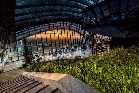 sky garden   fenchurch street projects gillespies
