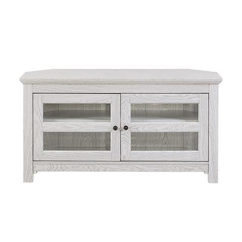 whitewash tv stand walker edison 44 quot white wash wood tv stand