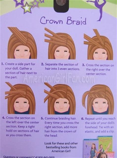 american girl hairstyles step by step step by step american girl doll stuff pinterest