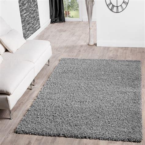shaggy teppich grau hochflor shaggy teppich preishammer uni einfarbig in grau