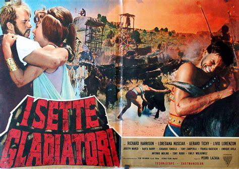film gladiatori quot i sette gladiatori quot movie poster quot 7 espartanos quot movie