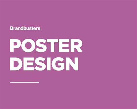 design large poster professional poster flyer design by brandbusters on