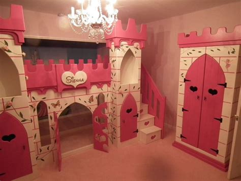 Princess Bunk Bed Castle Princess Castle Bed Bunk Bed Bed By Dreamcraftfurniture