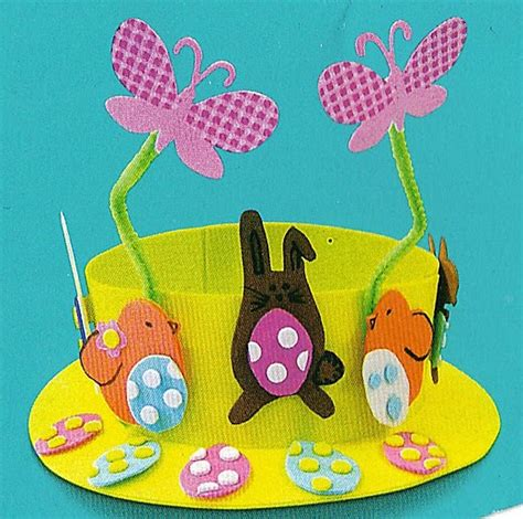 How To Make A Paper Easter Bonnet - happy spaces nursery wall wall for