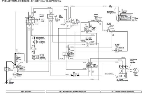 electrical wiring diagrams for deere get free image