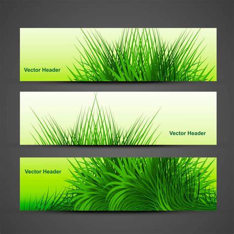 adobe illustrator grass pattern abstract green grass with reflection header vector design