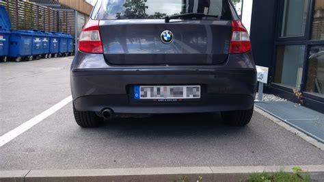 Versicherung Motorrad Wechselkennzeichen by Wechselkennzeichen Am Auto Das M 252 Ssen Sie Beachten