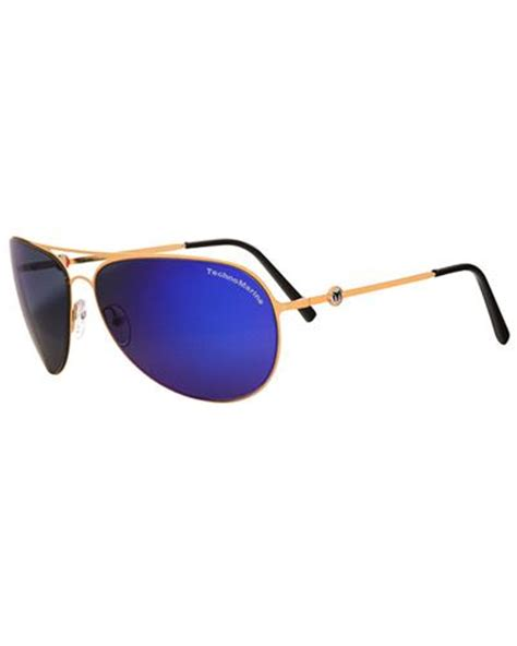 technomarine sunglasses cruise steel collection blue ecs30
