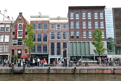 the anne frank house the red light district of amsterdam