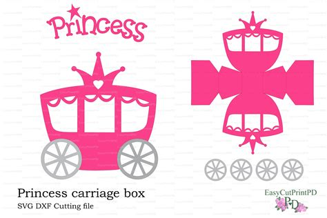 princess carriage template princess carriage box template invitation templates on