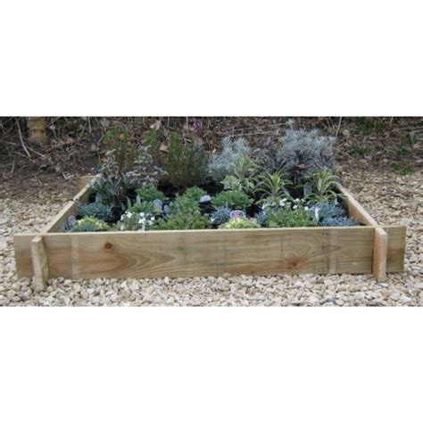 slotted bed frame slotted raised beds