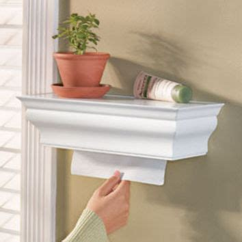 paper towel dispenser shelf from solutions