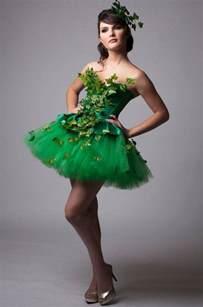 custom poison ivy green dress costume prom