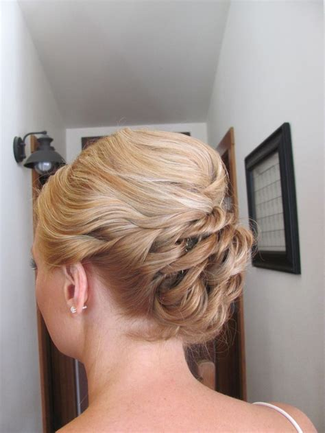 Ball Hairstyles Updo Braids   updo prom updo prom hair loose braid military ball