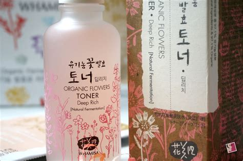 Whamisa Organic Flowers Toner Refresh whamisa organic flowers fermented toner and mask