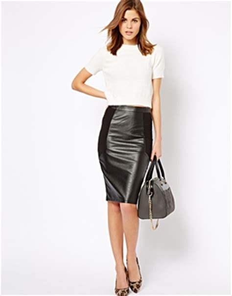 Pencil Skirt Hq the best ways of wearing leather skirts ideas hq